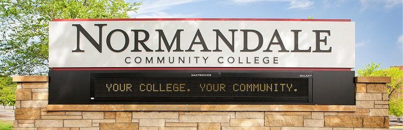 Normandale Sign