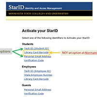 Active Your Star ID Main Page