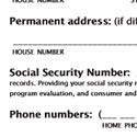 Normandale Application Form Social Security Line
