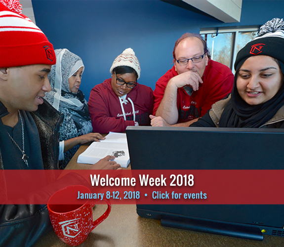 Welcome Week for new and returning students