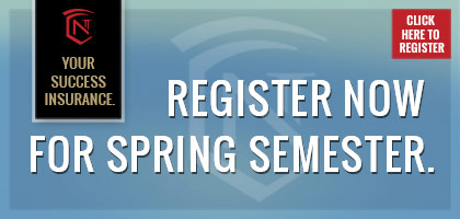 Register NOW for Spring Semester at Normandale