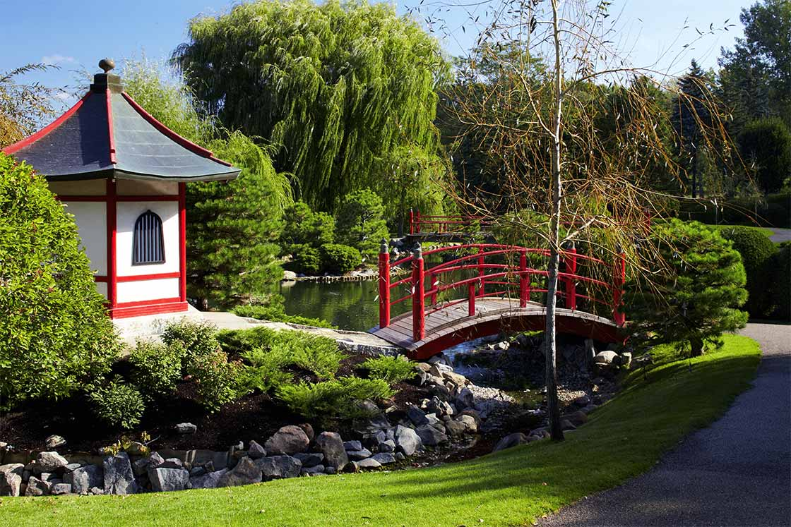 Gallery normandale community college for The japanese garden