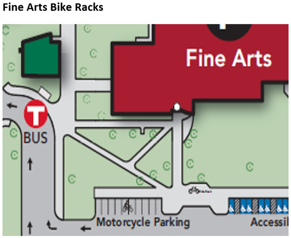 Fine arts bike racks