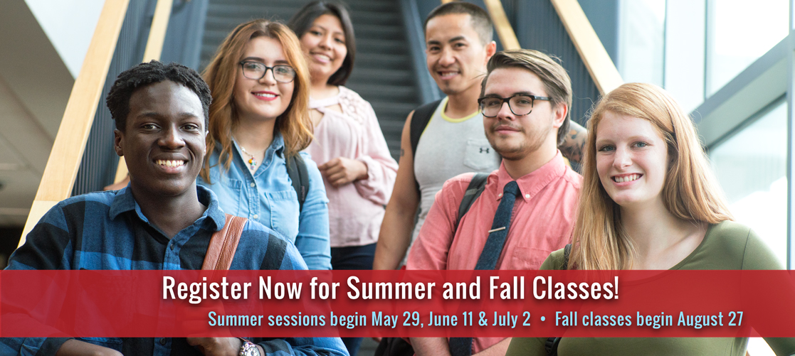Register Now for Summer and Fall Classes!