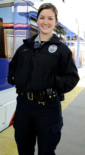 Community Officer Lindsay Selby and Metro Transit Police Department go extra mile to bridge the language gap.