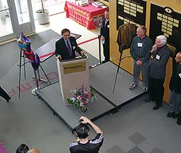 Dedication Ceremony at Normandale