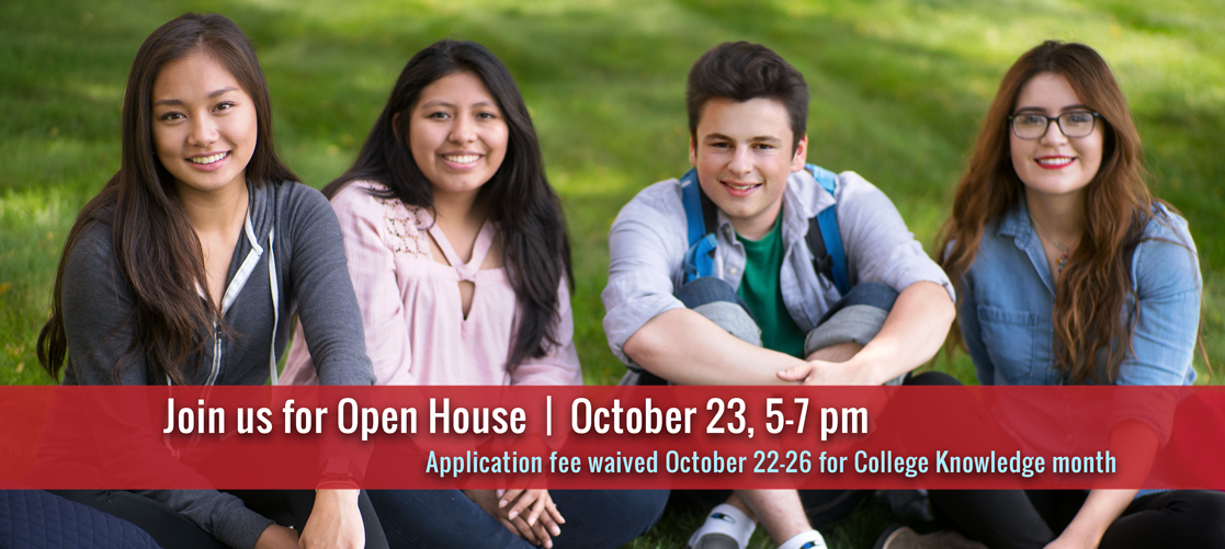 Join us for our Open House, October, 23