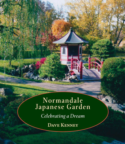 Cover for Japanese Garden History Book by Dave Kenney