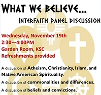 Normandale to host Interfaith Panel Discussion