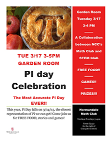 Pi Day at Normandale Community College