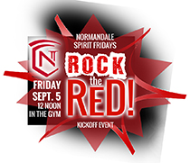 """Rock the Red!"" Kickoff Event on September 5 on 12 p.m."