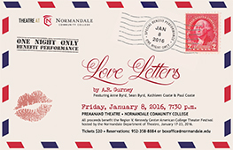 Theatre Peformance - Love Letters